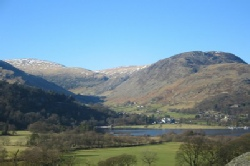 Ullswater, Glenridding and Helvellyn